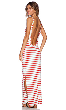 amour vert Brynn Maxi Dress in Poppy Stripe