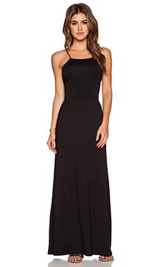 amour vert Zyana Maxi Dress in Black