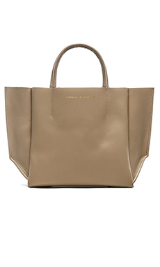 AMPERSAND AS APOSTROPHE Half Tote in Taupe