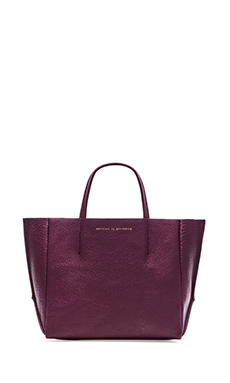 AMPERSAND AS APOSTROPHE Half Tote in Raspberry