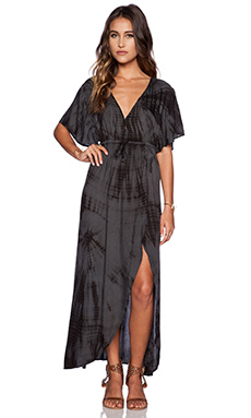 AMUSE SOCIETY Next Level Dress in Charcoal