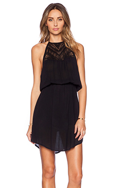 AMUSE SOCIETY Mia Dress in Black Sands