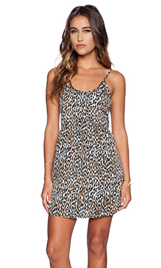 AMUSE SOCIETY Zed Dress in Leopard