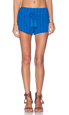 AMUSE SOCIETY Meyer Short in Medina Blue