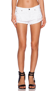 AMUSE SOCIETY Crossroads Short in White