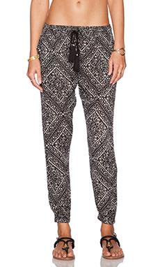 AMUSE SOCIETY Sienna Pant in Black Sands