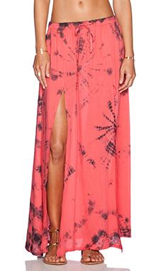 AMUSE SOCIETY Venice Skirt in Della Rosa