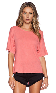 AMUSE SOCIETY Sadie Knit Top in Della Rosa