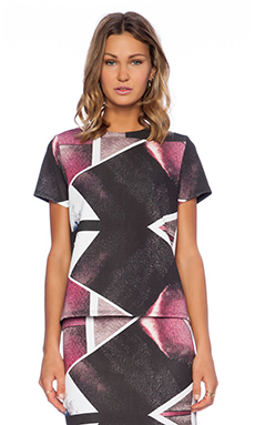 Angelys Balek Asymmetric Reflection Top in Purple