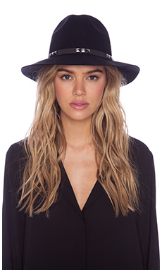 ANINE BING Bohemian Hat in Black
