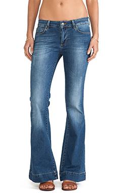 ANINE BING Flare Jean in Vintage Wash