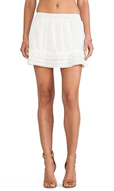 ANINE BING Bohemian Skirt in Ivory