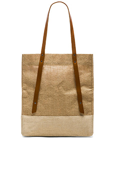 Apolis Wine Tote in Natural