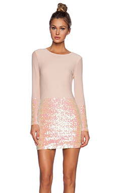 AQ/AQ Facet Mini Dress in Facet