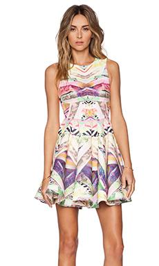 AQ/AQ Hollie Mini Dress in Spectrum