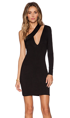 AQ/AQ Shay Mini Dress in Black