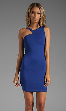 AQ/AQ Raffaella Mini Dress in Mazarine Blue