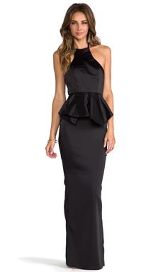 AQ/AQ Allesandra Maxi Dress in Black