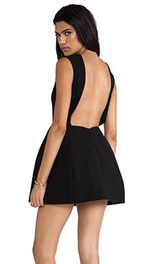 AQ/AQ Dime Mini Dress in Black