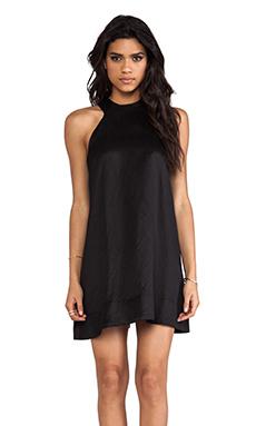 AQ/AQ Voyage Mini Dress in Black