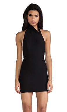 AQ/AQ Hannah Mini Dress in Black