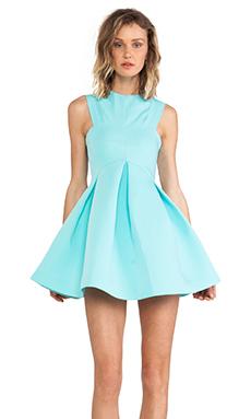 AQ/AQ Broadwalk Mini Dress in Arruba Blue