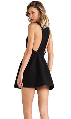 AQ/AQ Kiki Mini Dress in Black