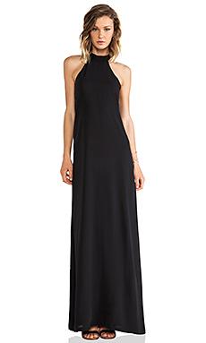 AQ/AQ Helden Maxi Dress in Black