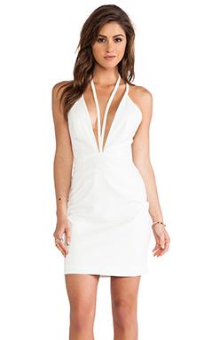 AQ/AQ Jess Mini Dress in Cream