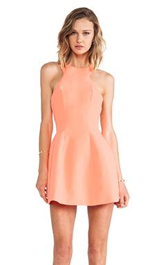 AQ/AQ Kiki Mini Dress in Pink Grapefruit