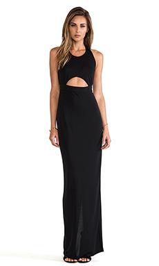 AQ/AQ Dickson Maxi Dress in Black