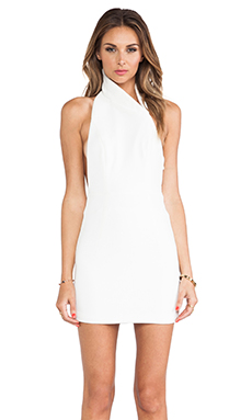 AQ/AQ Hannah Mini Dress in Cream