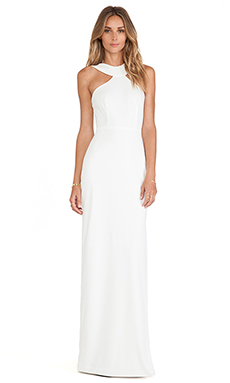 AQ/AQ Libby Maxi Dress in Cloud Cream