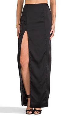 AQ/AQ Kamwoo Maxi Skirt in Black