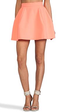 AQ/AQ Shade Mini Skirt in Pink Grapefruit