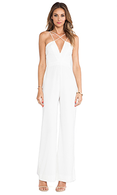 AQ/AQ Sane Jumpsuit in Cream