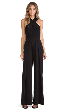 AQ/AQ Campberwell Jumpsuit in Black