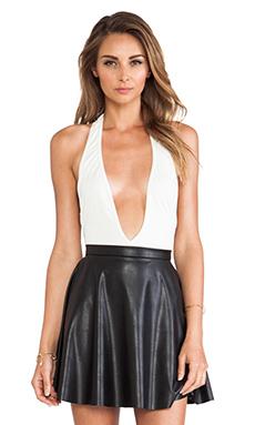 AQ/AQ Sydney Bodysuit in Cream