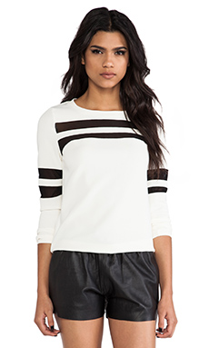 American Retro Marly Top in White