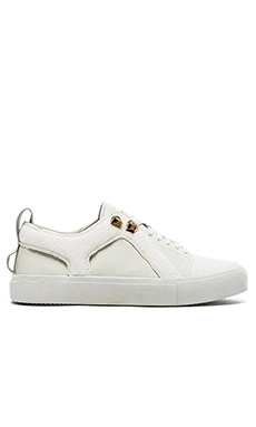 Article No. 0714 Cow hair Sneakers in White White