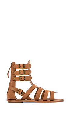 Ash Nomad Sandal in New Nude & Sand
