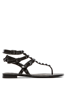 Ash Mumbay Sandal in Black
