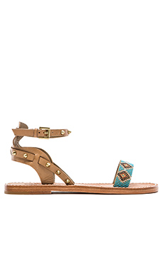 Ash Pearl Sandal in Nuts & Taupe