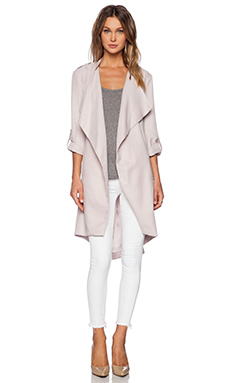 ashley B Cupro Jacket in Blush