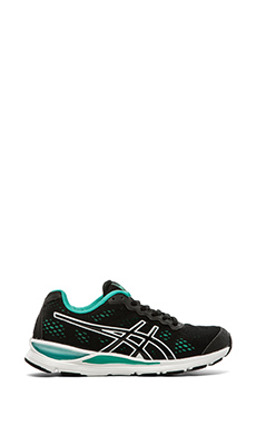 Asics Gel-Storm 2 in Black & Emerald