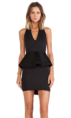 ASILIO The Paradox Dress in Black