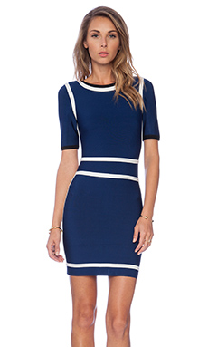 ASILIO Paperdoll Dress in Royal Blue
