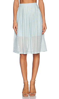 ASILIO Lemonade Lake Skirt in Sea Mist