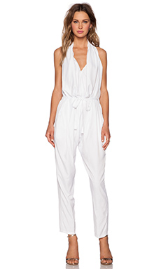 ASILIO The Purity Jumpsuit in White