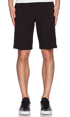 ATM Anthony Thomas Melillo Ponte Track Short in Black